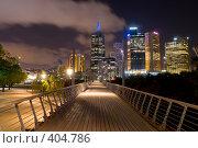 Купить «Здания Мельбурна», фото № 404786, снято 21 ноября 2005 г. (c) Кирилл Савельев / Фотобанк Лори
