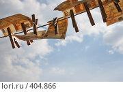 Купить «Евро на веревке», фото № 404866, снято 15 августа 2008 г. (c) Чернов Станислав / Фотобанк Лори