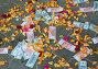 Деньги и лепестки роз, фото № 405426, снято 1 августа 2008 г. (c) Филонова Ольга / Фотобанк Лори