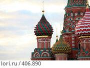 Купить «Собор Василия Блаженного», фото № 406890, снято 20 июля 2007 г. (c) Valeriy Novikov / Фотобанк Лори