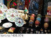 Купить «Сувенирные лавки на ярославском речном вокзале», фото № 408974, снято 17 августа 2008 г. (c) Игорь Мошкин / Фотобанк Лори