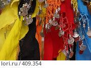 Купить «Платки для танцев живота», фото № 409354, снято 9 июля 2008 г. (c) Суханова Елена (Елена Счастливая) / Фотобанк Лори