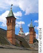 Купить «Старый город.Крыши и башни.Москва», фото № 409614, снято 1 июля 2008 г. (c) Кирпинев Валерий / Фотобанк Лори