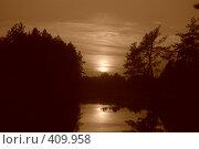 Купить «Закат(сепия)», фото № 409958, снято 13 июля 2008 г. (c) Алексей Желтов / Фотобанк Лори
