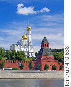 Купить «Московский Кремль. Колокольня Ивана Великого», фото № 410638, снято 1 июля 2008 г. (c) Кирпинев Валерий / Фотобанк Лори