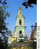 Купить «Москва. Богоявленский Кафедральный Собор (Елоховская церковь)», эксклюзивное фото № 411566, снято 15 августа 2008 г. (c) lana1501 / Фотобанк Лори