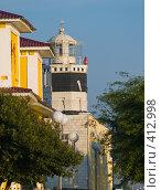 Купить «Вид на маяк в г. Анапа», фото № 412998, снято 12 августа 2008 г. (c) Алексей Пантелеев / Фотобанк Лори