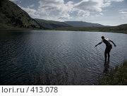 Купить «Рыбак», фото № 413078, снято 28 мая 2018 г. (c) Ковинько Игорь / Фотобанк Лори