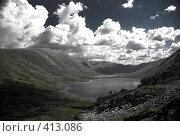 Купить «Озера в горах», фото № 413086, снято 28 мая 2018 г. (c) Ковинько Игорь / Фотобанк Лори