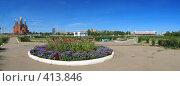 Купить «Город Краснокаменск, панорама», фото № 413846, снято 18 августа 2008 г. (c) Геннадий Соловьев / Фотобанк Лори