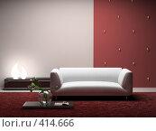 Купить «Интерьер современной комнаты», иллюстрация № 414666 (c) Hemul / Фотобанк Лори