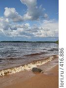 """Купить «Озеро """"Селигер"""" (о. Волго)», фото № 416886, снято 27 июля 2008 г. (c) Александр Секретарев / Фотобанк Лори"""