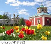 Купить «Тихвинский мужской монастырь», фото № 418882, снято 25 мая 2008 г. (c) Светлана Кудрина / Фотобанк Лори