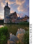 Купить «Замок Хорст во Фландрии (Бельгия)», фото № 419410, снято 24 сентября 2018 г. (c) Михаил Лавренов / Фотобанк Лори