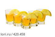 Купить «Стопка и лимон», фото № 420458, снято 23 июня 2008 г. (c) Рыбин Павел / Фотобанк Лори