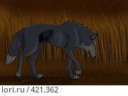 Купить «Кровавый закат», иллюстрация № 421362 (c) Анна Николаева / Фотобанк Лори