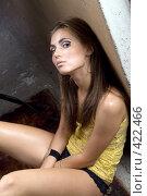 Купить «Девушка», фото № 422466, снято 26 июня 2008 г. (c) Сергей Сухоруков / Фотобанк Лори