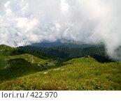 Купить «Альпийские луга Абхазии», фото № 422970, снято 22 августа 2007 г. (c) Андрей / Фотобанк Лори