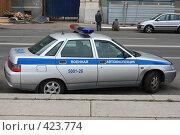 Автомобиль военной автоинспекции (2008 год). Редакционное фото, фотограф Вадим Билалов / Фотобанк Лори