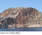 Сельджукская крепость византийских времён в Алании на анталийском побережье в Турции. Стоковое фото, фотограф Дмитрий Головков / Фотобанк Лори