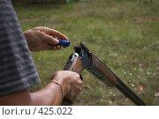 Купить «Стендовая стрельба», фото № 425022, снято 24 августа 2008 г. (c) Талдыкин Юрий / Фотобанк Лори