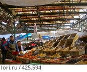 Купить «На рынке в Бишкеке», фото № 425594, снято 6 мая 2005 г. (c) Михаил Браво / Фотобанк Лори