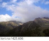 Купить «Горы недалеко от Бишкека», фото № 425606, снято 6 мая 2005 г. (c) Михаил Браво / Фотобанк Лори