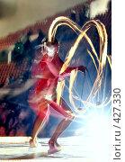 Танец с огнём. Стоковое фото, фотограф Ehduard Khabirov / Фотобанк Лори