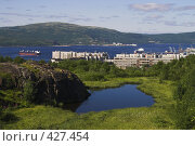 Купить «Мурманск. Кольский залив», фото № 427454, снято 29 июля 2008 г. (c) Роман Коротаев / Фотобанк Лори