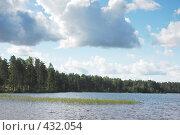 Купить «Пейзаж с озером», фото № 432054, снято 23 августа 2008 г. (c) Катыкин Сергей / Фотобанк Лори