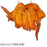 Копченые крылья цыпленка. Стоковое фото, фотограф Зябрикова Надежда / Фотобанк Лори