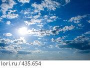 Купить «Небесный пейзаж», фото № 435654, снято 28 июля 2008 г. (c) Максим Горпенюк / Фотобанк Лори