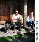 Купить «Посиделочки», фото № 435734, снято 4 августа 2008 г. (c) Морковкин Терентий / Фотобанк Лори