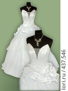 Купить «Свадебные платья», фото № 437546, снято 19 августа 2008 г. (c) Goruppa / Фотобанк Лори
