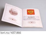 Паспорт гражданина РФ. Стоковое фото, фотограф Дмитрий Голиков / Фотобанк Лори