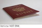 Паспорт. Стоковое фото, фотограф Дмитрий Голиков / Фотобанк Лори