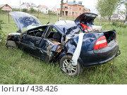 Купить «Автомобильная авария», фото № 438426, снято 26 мая 2008 г. (c) Александр Калина / Фотобанк Лори