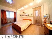 Купить «Интерьер спальни», фото № 439278, снято 3 сентября 2008 г. (c) Vdovina Elena / Фотобанк Лори
