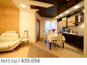 Купить «Часть гостиной и кухни», фото № 439694, снято 3 сентября 2008 г. (c) Vdovina Elena / Фотобанк Лори