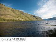 Купить «Горное озеро», фото № 439898, снято 27 июня 2006 г. (c) Serg Zastavkin / Фотобанк Лори