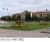 Купить «Площадь Арата, г. Кызыл, Тува», фото № 441982, снято 14 августа 2008 г. (c) Виталий Матонин / Фотобанк Лори