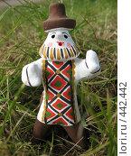Купить «Каргопольская глиняная игрушка. Полкан», фото № 442442, снято 5 августа 2008 г. (c) Морковкин Терентий / Фотобанк Лори
