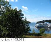 Купить «Никоновская бухта у острова Валаам», фото № 445078, снято 6 августа 2008 г. (c) Заноза-Ру / Фотобанк Лори