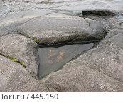 Купить «Треугольное озерцо в камнях. Валаам.», фото № 445150, снято 6 августа 2008 г. (c) Заноза-Ру / Фотобанк Лори