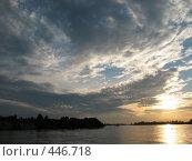 Купить «Закатное небо», фото № 446718, снято 2 августа 2008 г. (c) Морковкин Терентий / Фотобанк Лори