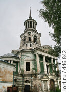Купить «Борисоглебский мужской монастырь.  (г. Торжок. Тверская область)», фото № 446842, снято 5 августа 2008 г. (c) Александр Секретарев / Фотобанк Лори