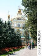 Купить «Храм в парке (Алма-Ата)», фото № 446854, снято 30 июля 2008 г. (c) Никончук Алексей / Фотобанк Лори