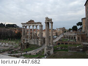 Купить «Римские руины», фото № 447682, снято 20 февраля 2008 г. (c) Мария Левочкина / Фотобанк Лори