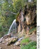 """Купить «Суксун.Водопад """" Плакун """" на реке Сылве», фото № 451178, снято 9 сентября 2008 г. (c) Павел Спирин / Фотобанк Лори"""