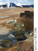 Купить «Поле вулканической деятельности в Исландии», фото № 451590, снято 23 августа 2008 г. (c) Комаров Константин / Фотобанк Лори